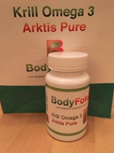Bodyfokus Krill Omega 3 Arktis Pure