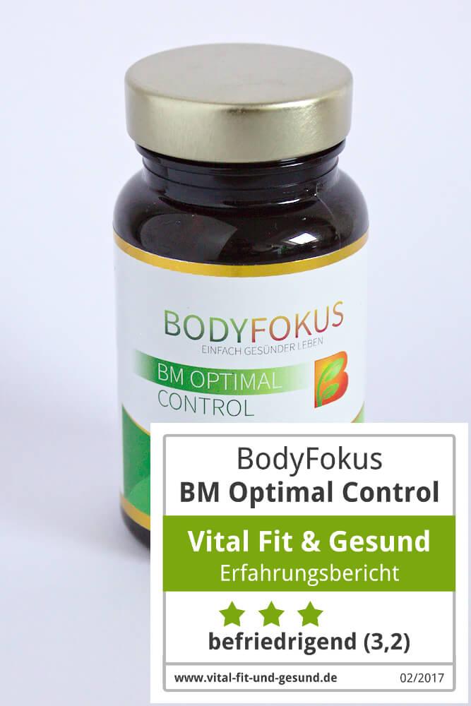 Bodyfokus BM Optimal Control