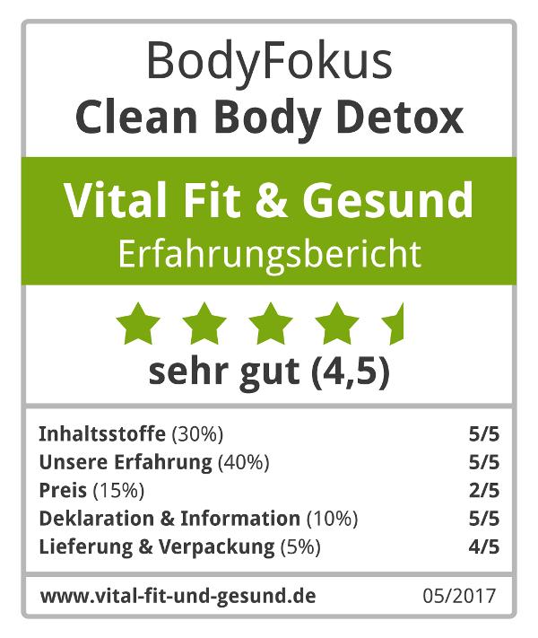 Clean Body Detox Siegel