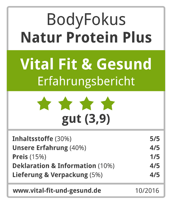 Natur Protein Plus Siegel