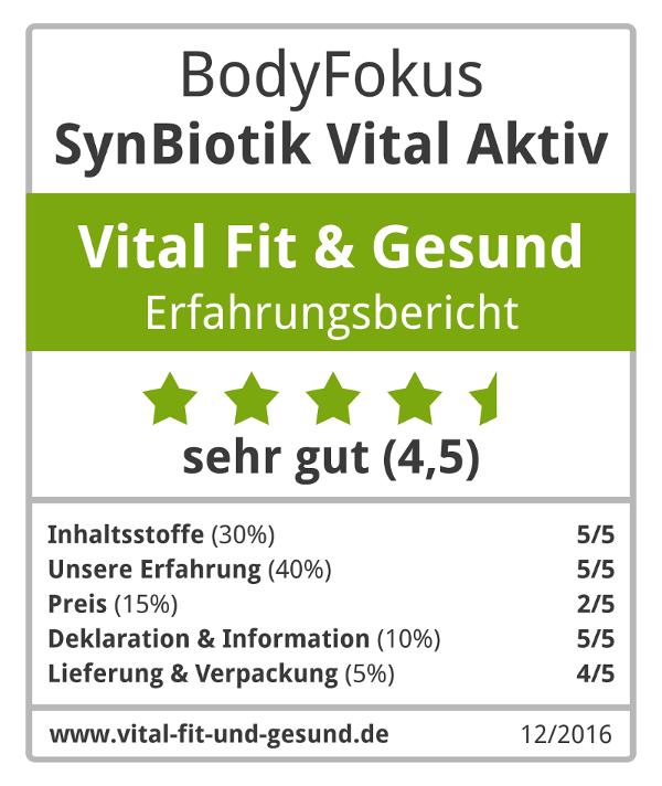 SynBiotik Vital Aktiv Siegel