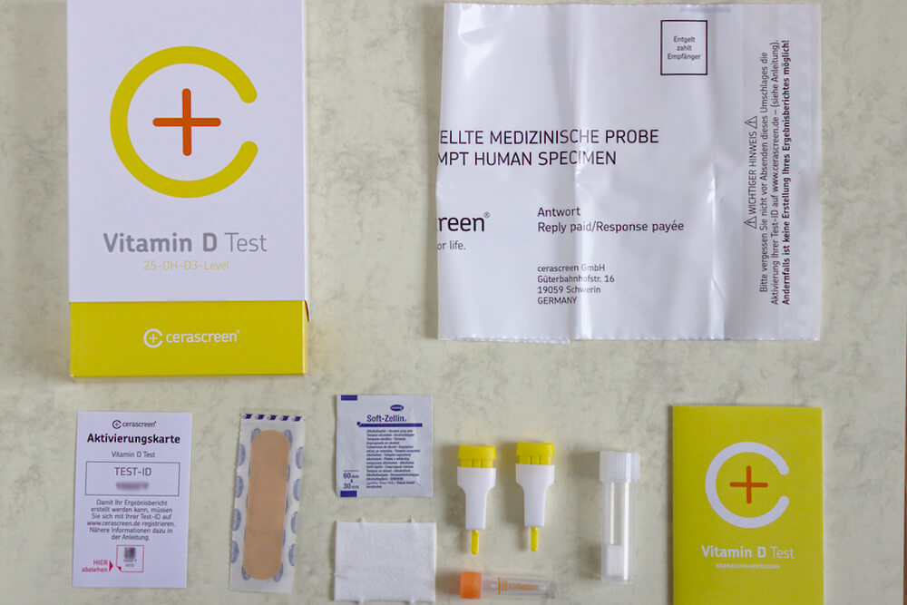 Vitamin D Test Inhalt