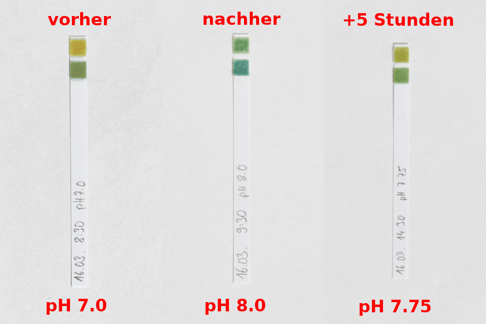 Wim Hof Methode pH Test