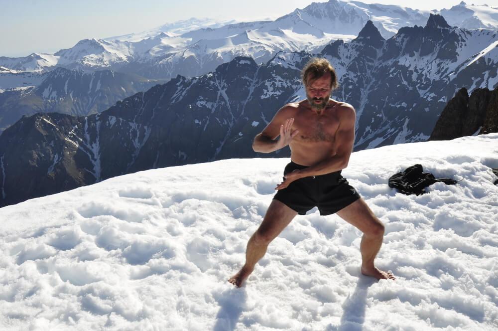 Wim Hof Methode Schnee