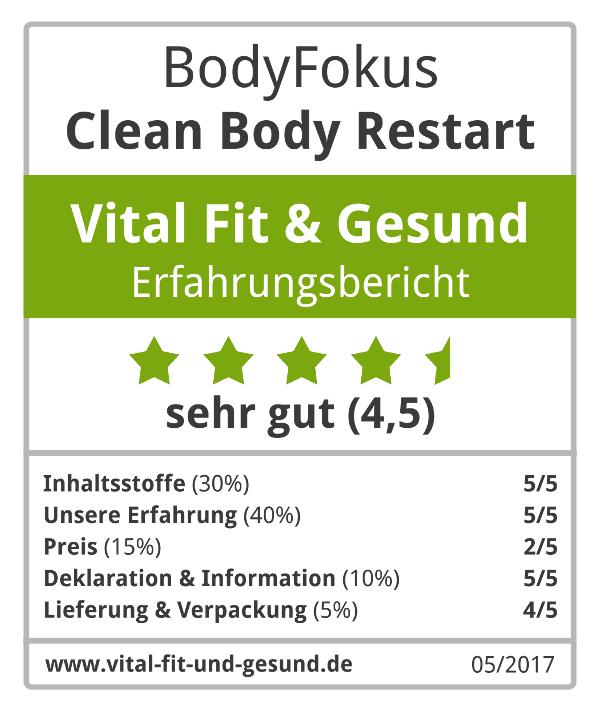 Clean Body Restart Siegel