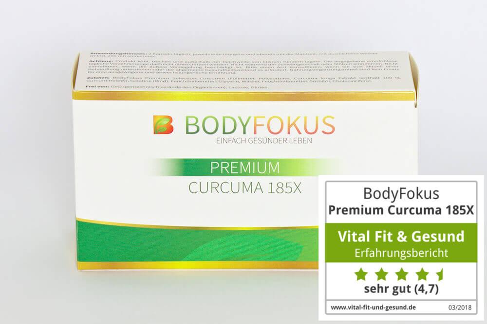 Premium Curcuma 185X Packung