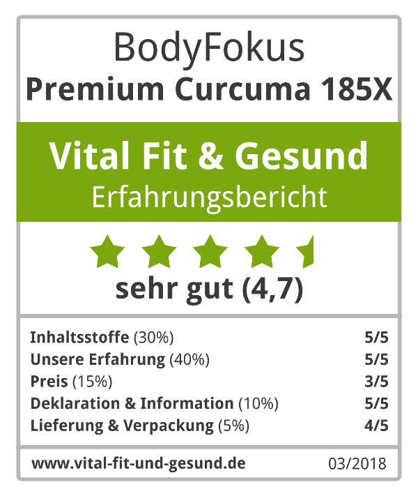 Premium Curcuma 185X Siegel