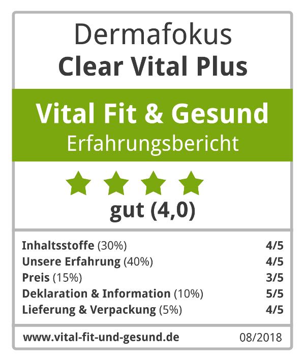Clear Vital Plus Siegel