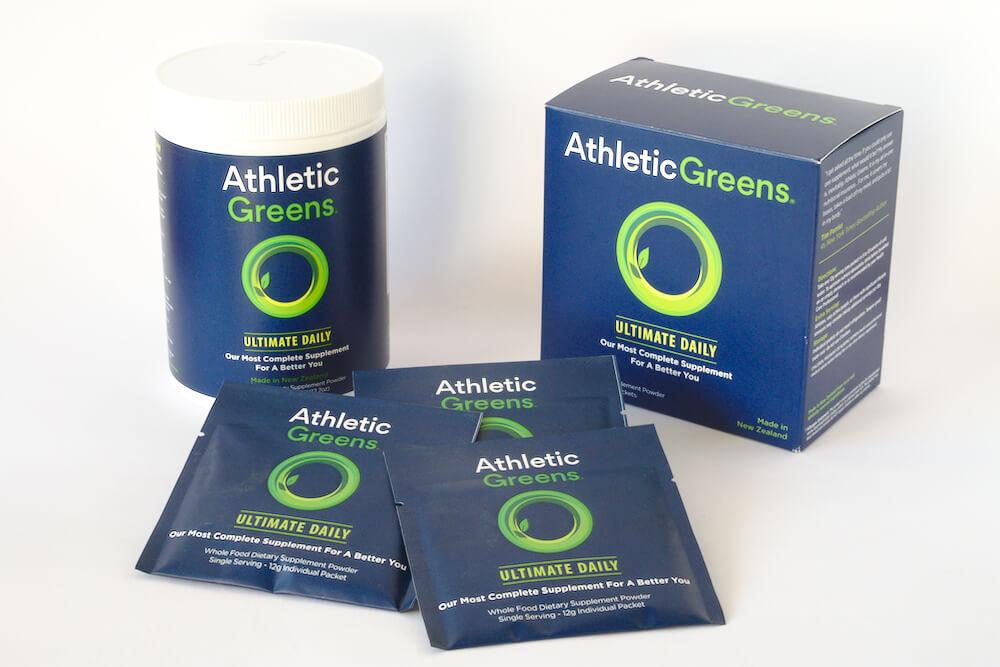 Athletic Greens Travelpacks