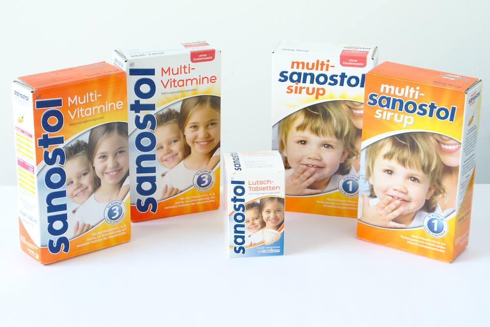 Sanostol Vitaminpräparate