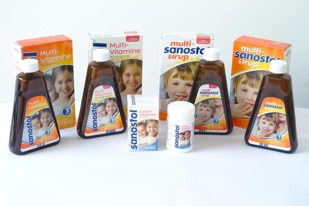 Sanostol Produkte
