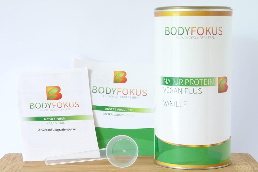 Natur Protein Vegan Plus Inhalt