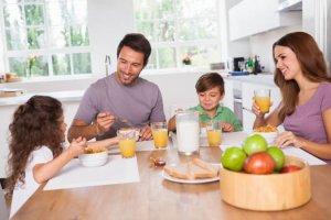 Gesundes Frühstück für Kinder