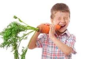 Vitamin A für Kinder