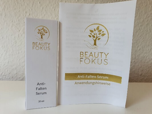 BeautyFokus Anti-Falten Serum Inhalt